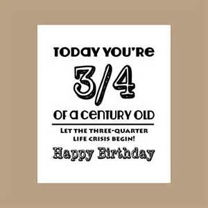 75th birthday card 3 4 century old card milestone card 1942