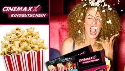 cinemaxx popcorn dailydeal gutscheine