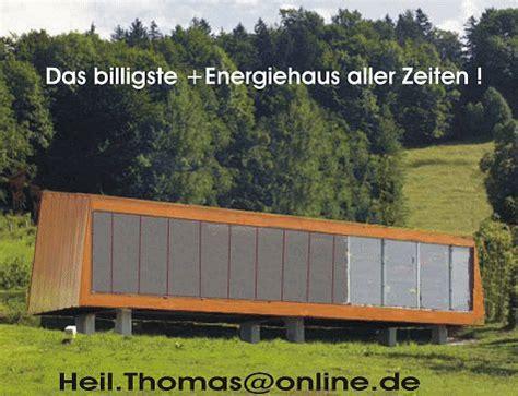 Bungalow Billig Bauen by Wohnen In Einem Mobilen Plus Energie Haus Unter 200