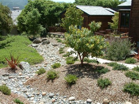 Berms and Dry Creekbed, Designed by Ann Breemer Designs