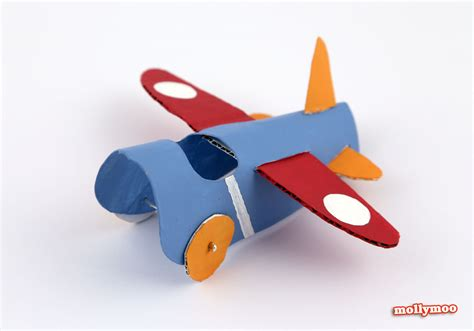 paper airplane crafts mollymoocrafts toilet roll crafts paper aeroplanes