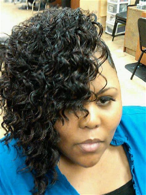soft waves on african american hair medium black hair style deep waves fingerwaves charmalew