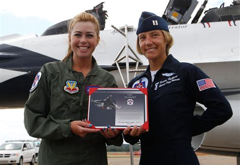 women hair in the air force paula creamer rides with u s air force thunderbirds zimbio