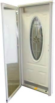 Manufactured Home Exterior Doors 32x76 3 4 Oval Glass Door Rh For Mobile Home Manufactured Housing