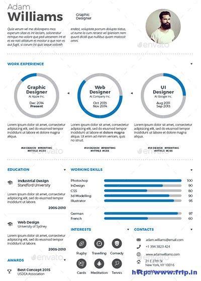 29 Awesome Infographic Resume Templates You Want To