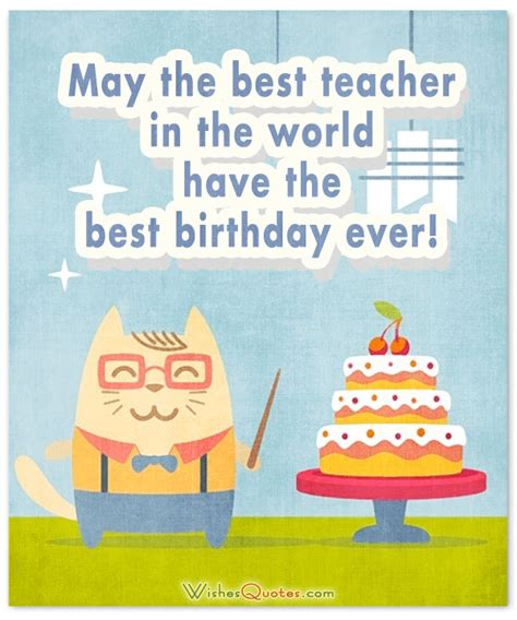Birthday Cards For Teachers Birthday Wishes For Teacher Happy Birthday Teacher And