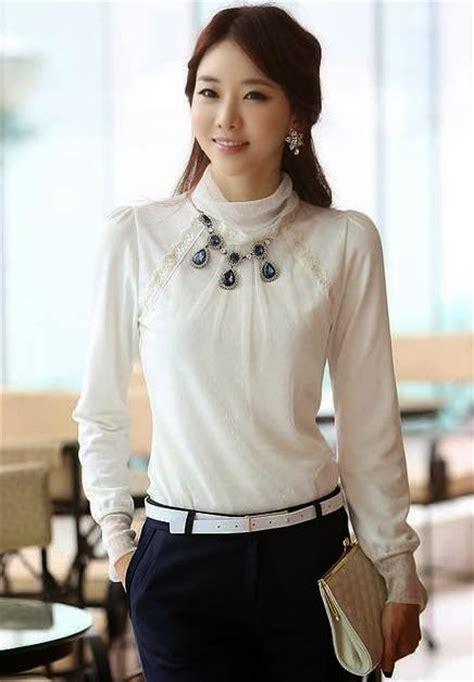 imagenes de jovenes blancas moda blusas 187 blusas elegantes de manga larga 2