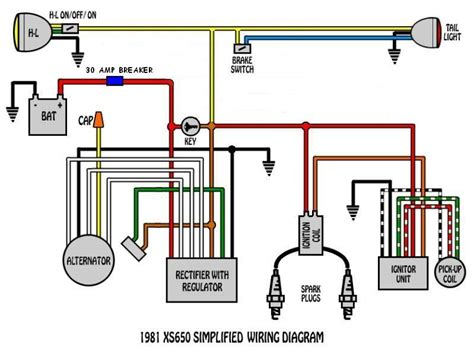 1979 xs650 electronic ignition wiring diagram wiring