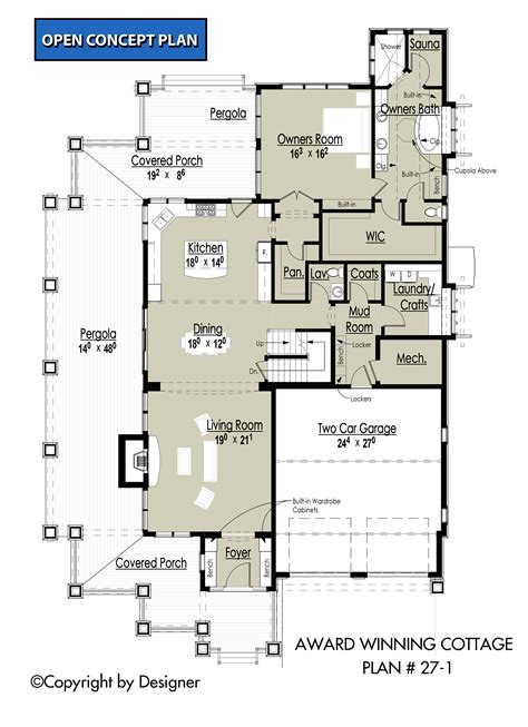 award winning house plans award winning cottage house plans by garrell associates