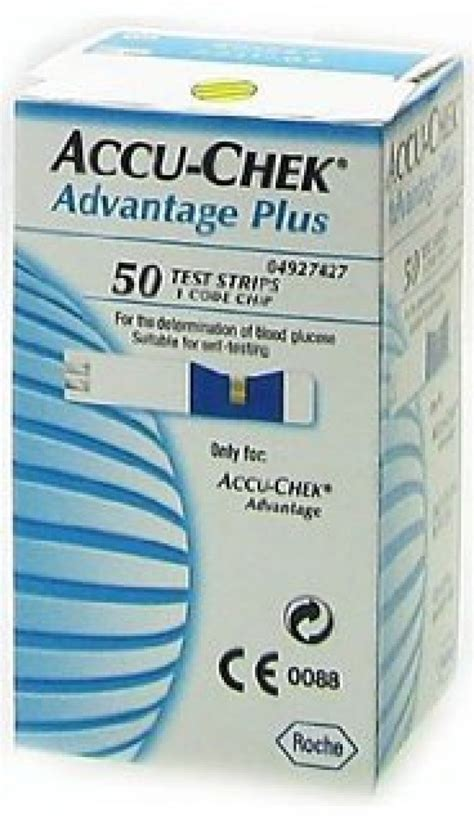 Advan Tig Plus accu chek advantage plus test strips pack 50