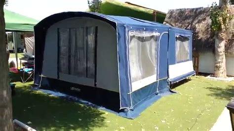 carrello tenda nuovo automatico remolque tienda comanche montana con avance