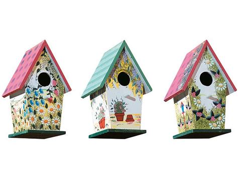 colorful bird houses colorful bird houses bird houses