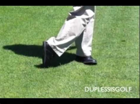 golf swing front foot golf instruction finish with weight outside front foot