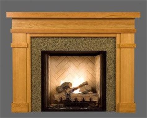 craftsman fireplace surround