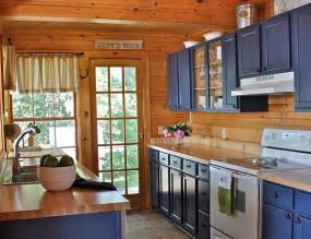 country blue kitchen cabinets decorating with a country cottage theme