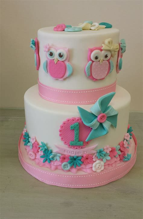 owl theme owl themed birthday cake cakecentral