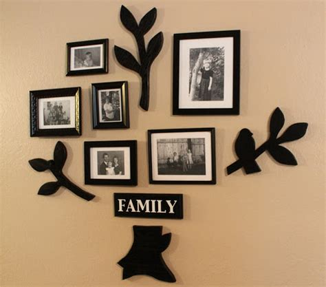 interesting and unique wall decor ideas for family rooms unique family photo frame ideas unique family photo frame