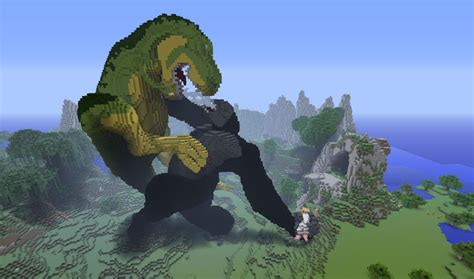 Jogo Home Design Story by Minecraft Building Ideas King Kong
