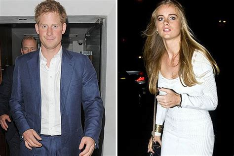 prince harry s girl friend prince harry s girlfriend cressida bonas is not sure their