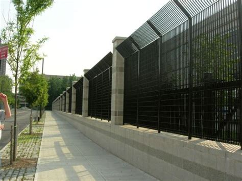 image gallery security fence