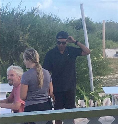 michelle obama necker island obama is having the time of his life on vacation with