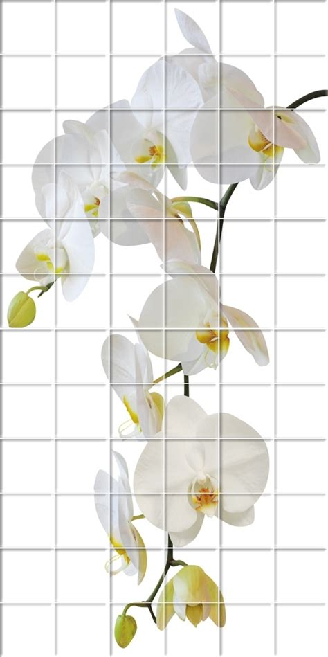 flower wall stickers uk wallstickers folies flowers tiles wall stickers
