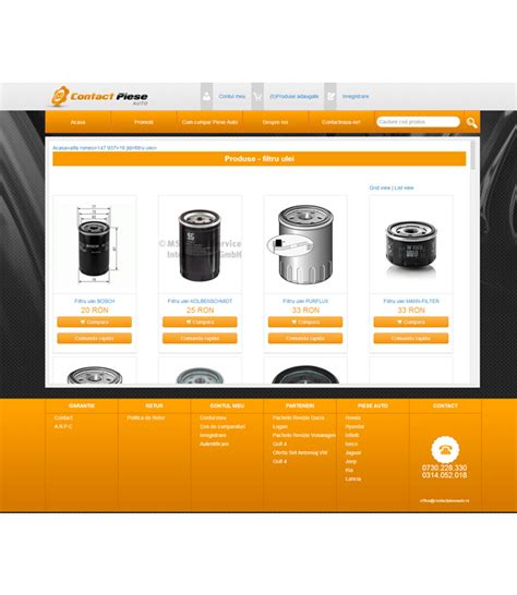 Piese Auto Online by Magazin Online De Piese Auto Contact Piese Auto