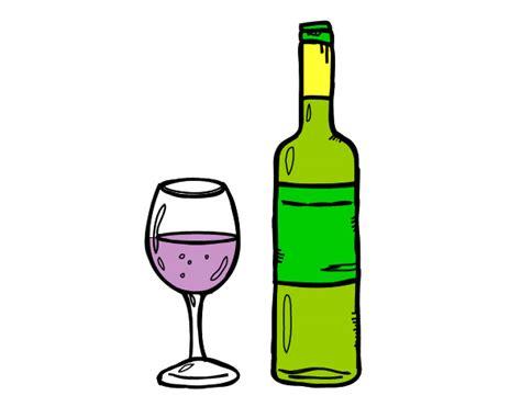 dibujos realistas botella dibujo de botella de vino y copa pintado por yoiner en