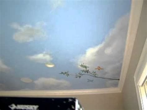Sky Painting On Ceiling by Sky Ceiling Mural