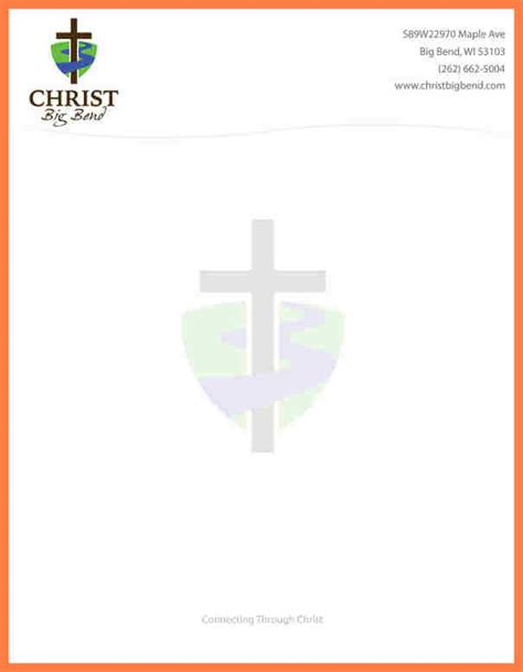 christian letterhead templates free free church letterhead templates church letterhead sle