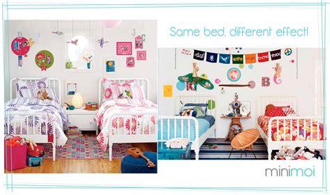 boy girl bedroom shared rooms boys and girls minimoi