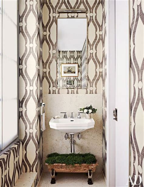 powder rooms with wallpaper wallpapered powder rooms bfarhardesign