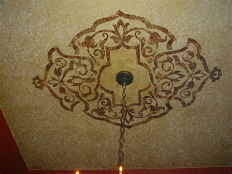 ceiling stencil from modello designs royal design