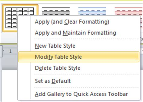 Change Table Style Word Stop Table Rows In Microsoft Word From Splitting Across Pages Learn Microsoft Word Five