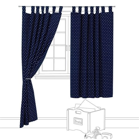 navy star curtains navy star blackout curtains great little trading company