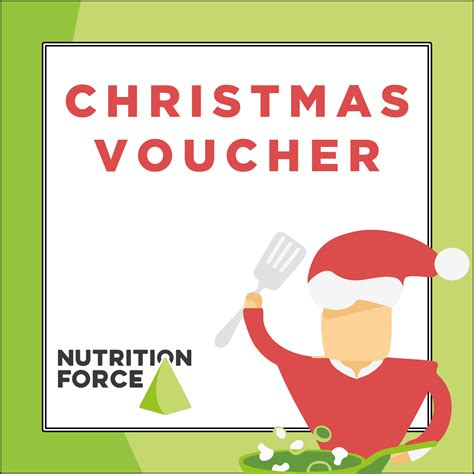 gift voucher christmas nutrition force