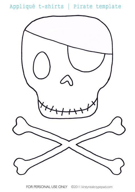 pirate ship cut out template punisher skull outline clipart cliparthut free clipart