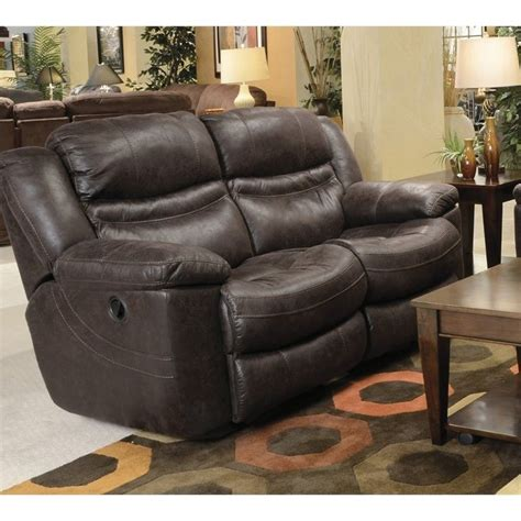 rocking loveseat recliner catnapper valiant rocking reclining loveseat in coffee