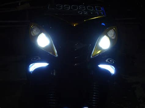 Lu Led Jupiter Mx Lama yamaha lu senja led