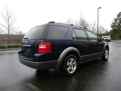 airbag deployment 2007 ford freestyle transmission control 2007 ford freestyle sel awd 4dr wagon in kirkland wa united motors