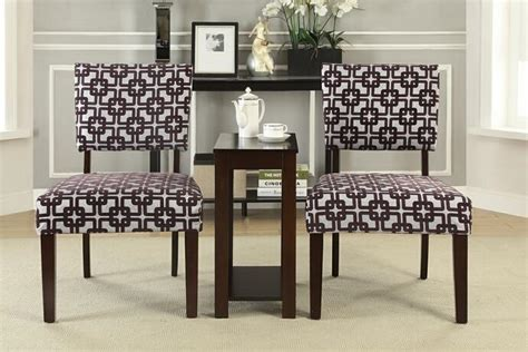 accent table and chairs set 3 pc sheryl v collection espresso finish from amb