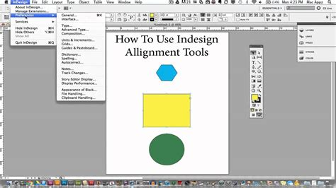 tutorial on indesign adobe indesign tutorial how to use the alignment tools