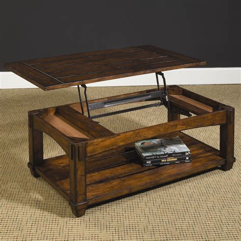 Mission Lift Top Coffee Table Hammary Tacoma 049 910 Rectangular Mission Lift Top Cocktail Table Dunk Bright Furniture