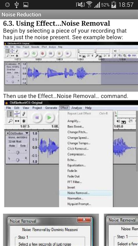 audacity android free audacity tutorials android apps on play