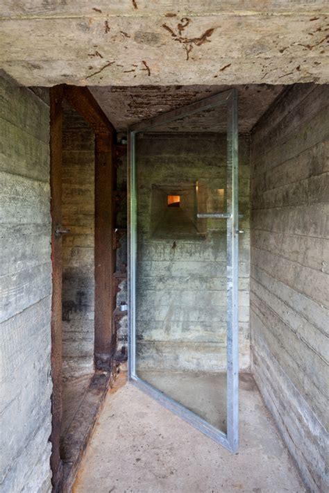 concrete bunker home images tiny war bunker makes unique underground home modern