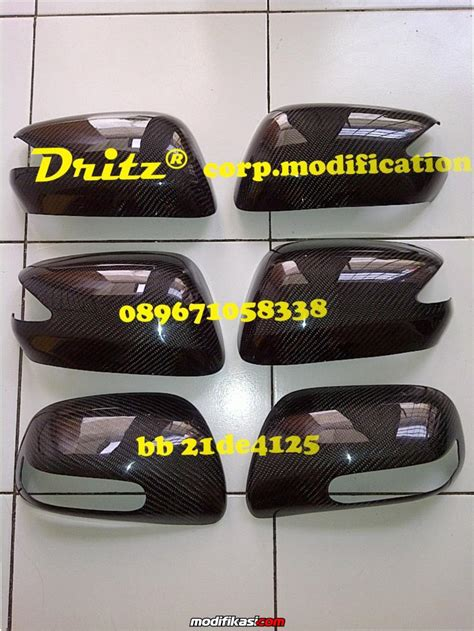 Spion Mobil Yaris 2013 baru cover spion handle carbon brio fd fortuner vios yaris