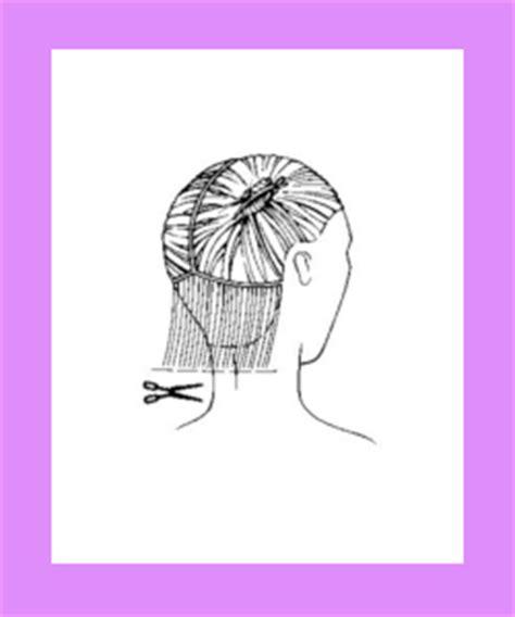 trimming hair angle cut how to cut classic bob hairstyle bob hair cutting