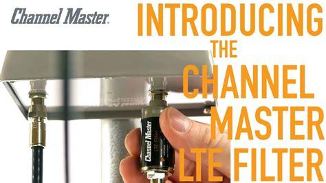 channel master   lte filter improves tv antenna