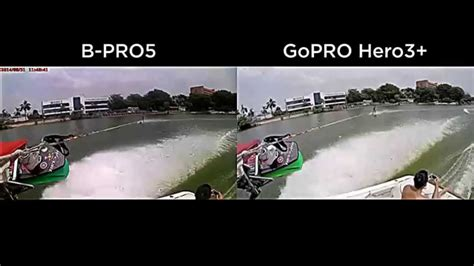 Bpro Vs Gopro test brica b pro5 vs gopro hero3 black 150 vs 500