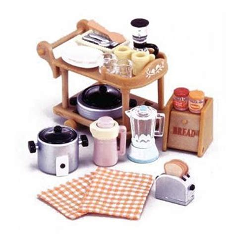 1 12 miniature home furniture mini toy kitchen room set mini 1 12 miniature kitchen room set for sylvanian family